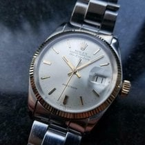 Rolex Air King Date Or/Acier 35mm Argent