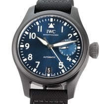 IWC Big Pilot Top Gun Ceramic 46mm Blue Arabic numerals United States of America, New York, New York