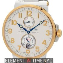 Ulysse Nardin Marine Chronometer 41mm new Automatic Watch with original box and original papers 265-66
