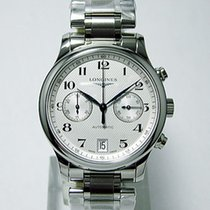Longines Master Collection Steel 38,5mm Silver Arabic numerals