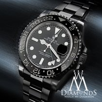 Rolex Gmt Master Ii Batman 116 Black Dial & Bezel S/steel...
