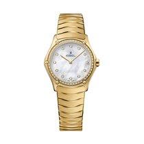 Ebel Sport 1216392 EBEL SPORT CLASSIC Donna 29mm Perla oro  e diamanti new