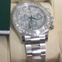 Rolex Daytona  Platinum Diamond Baguette & Pave