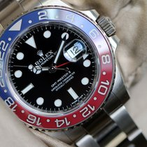 Rolex GMT-Master II 116719 BLRO  full white gold perfect