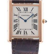 Cartier Tank Louis W1560017/ 3280 Watch with Leather Bracelet...