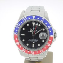 Rolex GMT-Master II Steel 40mm PEPSI (BOXonly1992) Unpolished