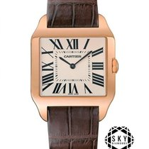 Cartier new Manual winding 44.6mm Rose gold Sapphire Glass