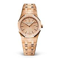 Audemars Piguet Royal Oak Lady new 2019 Quartz Watch with original box and original papers 67653OR.GG.1263OR.02