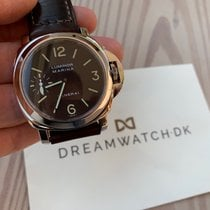 Panerai Luminor Marina Stål 44mm Svart Arabisk