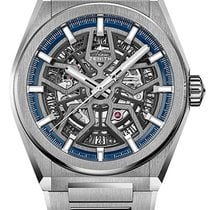 Zenith Titanium Automatic Transparent new Defy