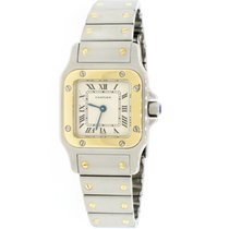 Cartier Santos Galbée Steel 24mm Silver Roman numerals United States of America, New York, New York