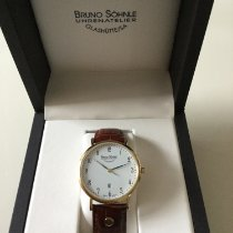 Bruno Söhnle Nabucco Steel 38mm White Arabic numerals