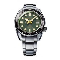 Seiko Prospex Steel 44mm Green