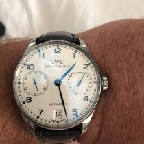 IWC IW500107 Steel 2012 Portuguese Automatic 42mm pre-owned United States of America, New York, Bronxville