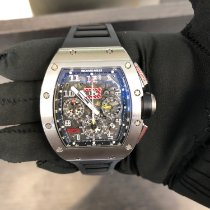 Richard Mille RM011 White gold 2018 RM 011 50mm pre-owned