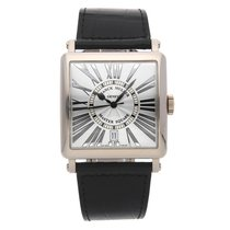 Franck Muller Master Square White gold 36mm Silver Roman numerals United States of America, Pennsylvania, Bala Cynwyd