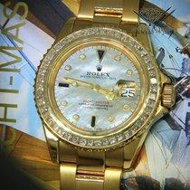 Rolex Zuto zlato Automatika Sedef-biserast 40mm rabljen Yacht-Master 40