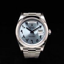 Rolex Day-Date neu 2018 Automatik Uhr mit Original-Box und Original-Papieren 226206