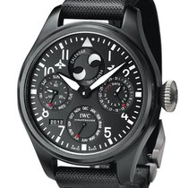 IWC Big Pilot Top Gun Titanium 48mm Black Arabic numerals United States of America, New York, Greenvale