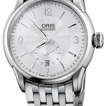 Oris Artelier Small Second Steel 44mm Silver United States of America, New York, Brooklyn