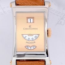 Chronoswiss White gold 24mm Manual winding CH1371WR rg pre-owned