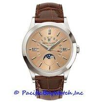 Patek Philippe Perpetual Calendar Platinum 39.5mm Brown United States of America, California, Newport Beach