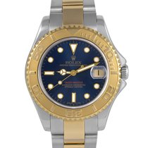 Rolex Yacht-Master Midsize Steel/Gold with Blue Dial, Ref: 68623
