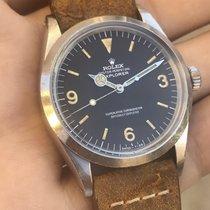 Rolex Explorer 1016 - Aged Black Matte Dial - c. 1973