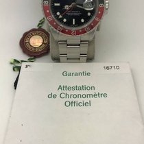 Rolex 16710 GMT Master II Coke Bezel F series with Guarantee...