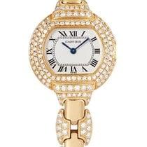 까르띠에 (Cartier) | A Lady's Yellow Gold And Diamond-set Oval...