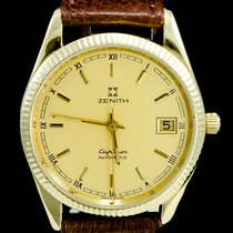 Zenith Or jaune Remontage automatique Jaune Romains 36mm occasion
