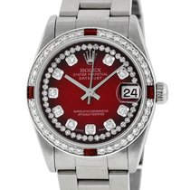 Rolex Lady-Datejust Steel 31mm Red United States of America, California, Los Angeles