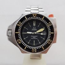 Omega Seamaster PloProf pre-owned 45mm Date Steel