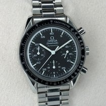 Omega Speedmaster Chronograph Tachymeter Automatic Black Dial