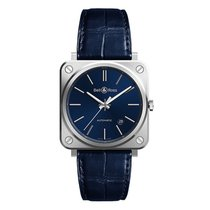 Bell & Ross BR S BRS92-BLU-ST/SCR new