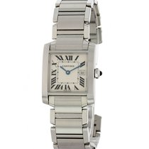 Cartier Tank Française Steel 25mm White United States of America, New York, New York
