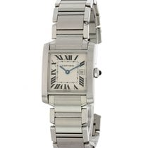 Cartier Tank Française Steel 25mm Champagne United States of America, New York, New York