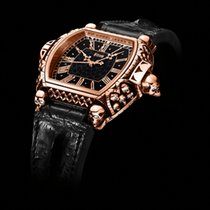 Strom Red gold Automatic Black 47mm new Agonium