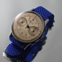 Minerva Chronograph 38,2mm Manual winding pre-owned White