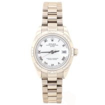 Rolex 179369 Oro blanco Lady-Datejust 26mm usados