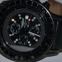 Breitling Super Avenger Steel 48mm Black No numerals United States of America, New York, NEW YORK CITY
