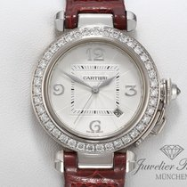 Cartier White gold 32mm Automatic Pasha pre-owned