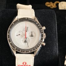 Omega 311.32.42.30.04.001 Aço 2009 Speedmaster Professional Moonwatch 42mm novo