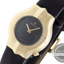 TAG Heuer Alter Ego Yellow gold 25mm Black No numerals