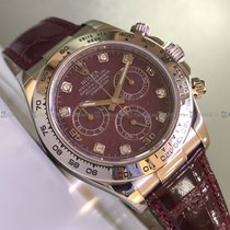 Rolex Plastic Automatic Red pre-owned Daytona