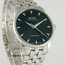 Mido Steel 38mm Automatic Baroncelli II pre-owned