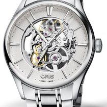 Oris Artelier Skeleton 01 734 7721 4051-07 8 21 88 2019 new