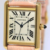 Cartier Tank Louis Cartier Yellow gold 25.5mm Silver Roman numerals United States of America, Florida, 33431