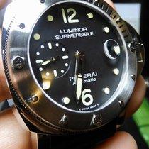 Panerai Luminor Submersible Zeljezo 44mm Crn
