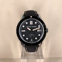 Ulysse Nardin pre-owned Automatic Black Sapphire crystal 10 ATM